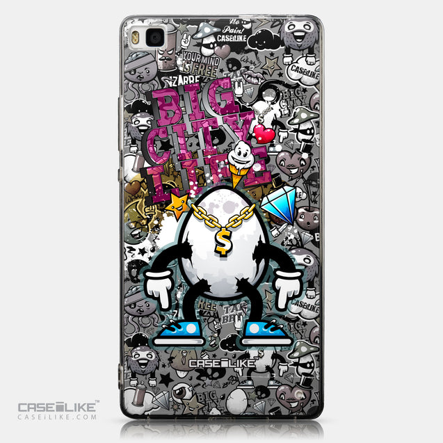 CASEiLIKE Huawei P8 back cover Graffiti 2704