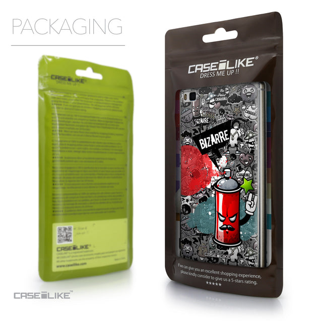 Packaging - CASEiLIKE Huawei P8 back cover Graffiti 2705