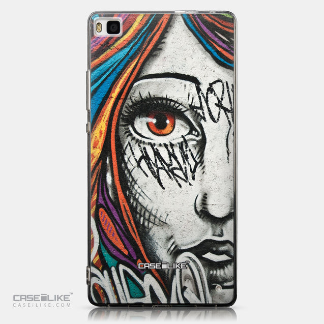 CASEiLIKE Huawei P8 back cover Graffiti Girl 2724