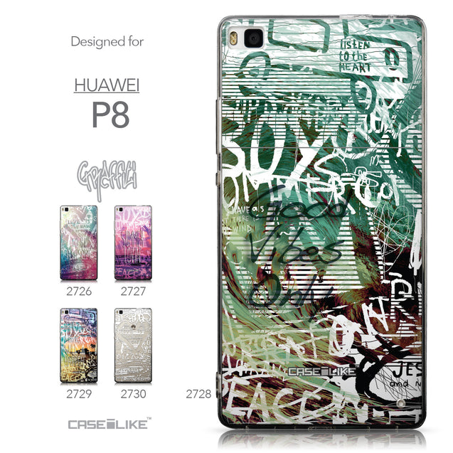 Collection - CASEiLIKE Huawei P8 back cover Graffiti 2728