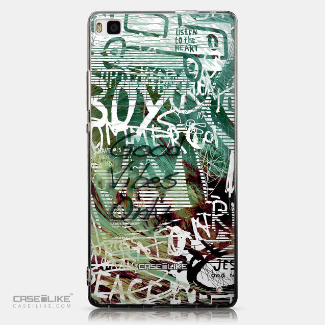 CASEiLIKE Huawei P8 back cover Graffiti 2728