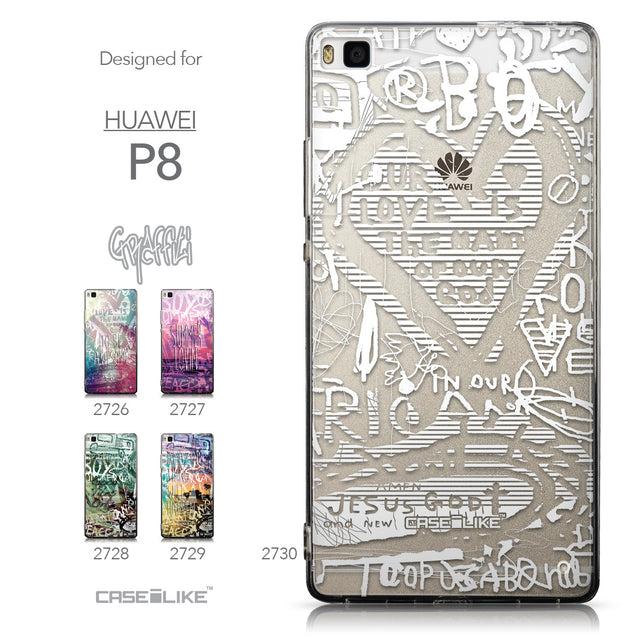 Collection - CASEiLIKE Huawei P8 back cover Graffiti 2730