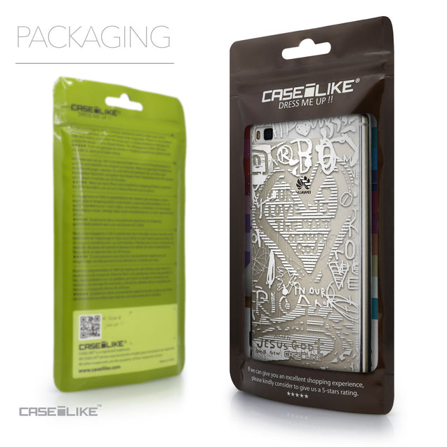Packaging - CASEiLIKE Huawei P8 back cover Graffiti 2730