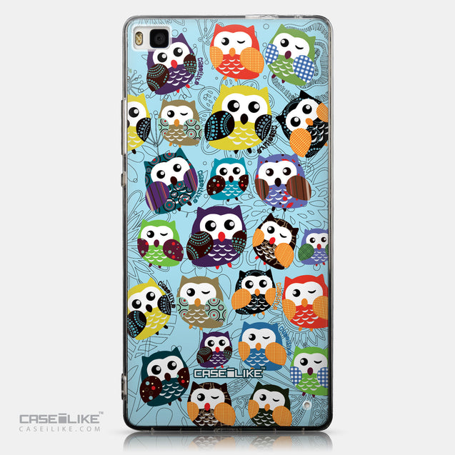 CASEiLIKE Huawei P8 back cover Owl Graphic Design 3312