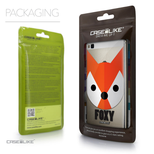 Packaging - CASEiLIKE Huawei P8 back cover Animal Cartoon 3637