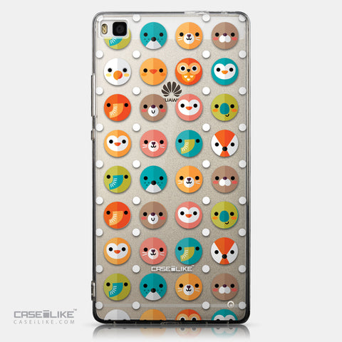 CASEiLIKE Huawei P8 back cover Animal Cartoon 3638