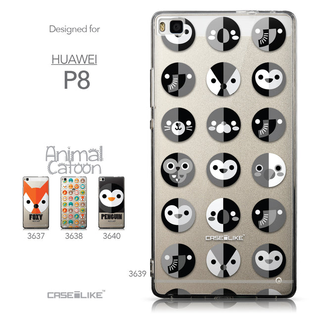Collection - CASEiLIKE Huawei P8 back cover Animal Cartoon 3639