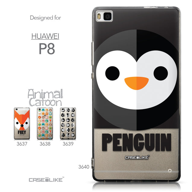 Collection - CASEiLIKE Huawei P8 back cover Animal Cartoon 3640