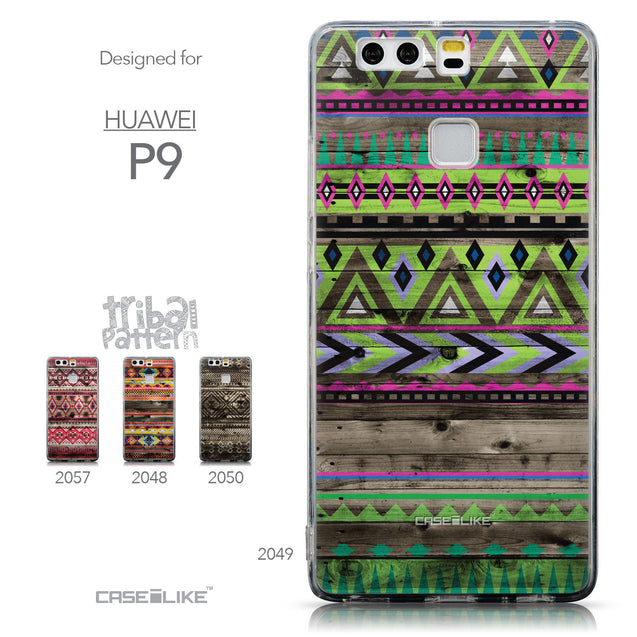 Collection - CASEiLIKE Huawei P9 back cover Indian Tribal Theme Pattern 2049