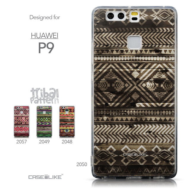 Collection - CASEiLIKE Huawei P9 back cover Indian Tribal Theme Pattern 2050