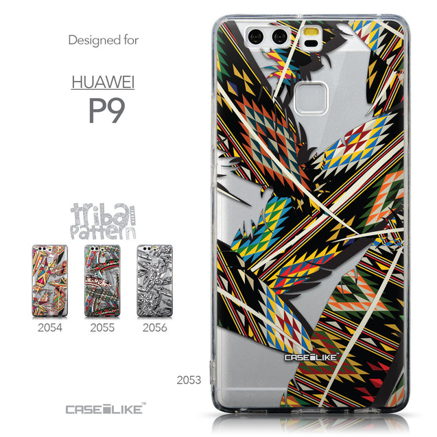 Collection - CASEiLIKE Huawei P9 back cover Indian Tribal Theme Pattern 2053