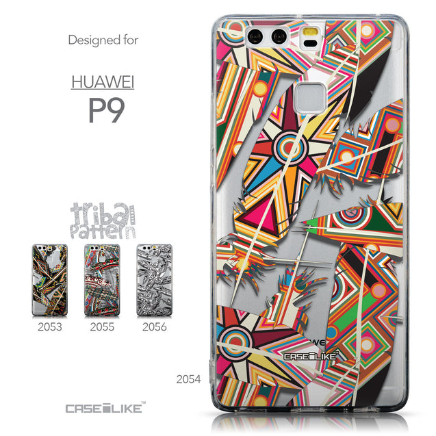 Collection - CASEiLIKE Huawei P9 back cover Indian Tribal Theme Pattern 2054