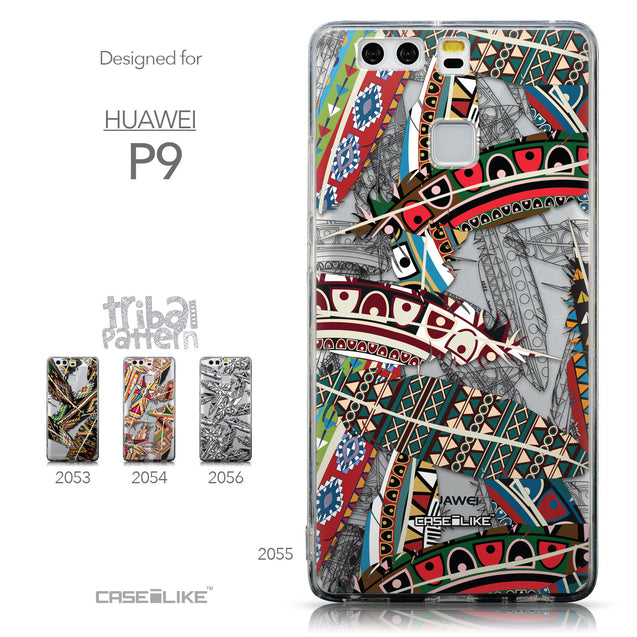 Collection - CASEiLIKE Huawei P9 back cover Indian Tribal Theme Pattern 2055