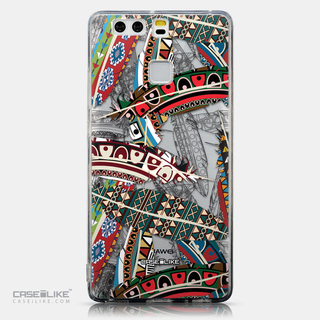 CASEiLIKE Huawei P9 back cover Indian Tribal Theme Pattern 2055