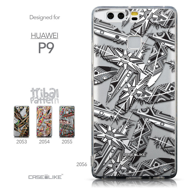 Collection - CASEiLIKE Huawei P9 back cover Indian Tribal Theme Pattern 2056