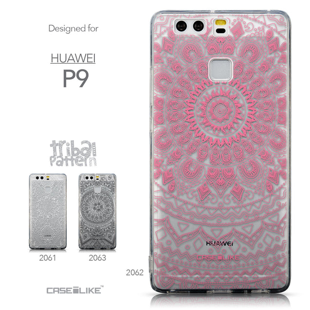 Collection - CASEiLIKE Huawei P9 back cover Indian Line Art 2062