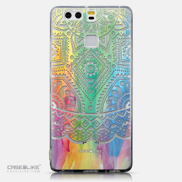 CASEiLIKE Huawei P9 back cover Indian Line Art 2064