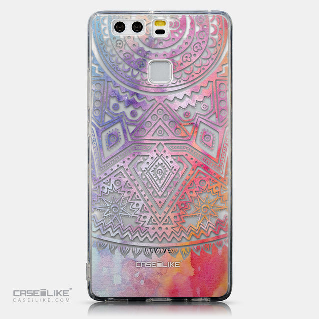 CASEiLIKE Huawei P9 back cover Indian Line Art 2065
