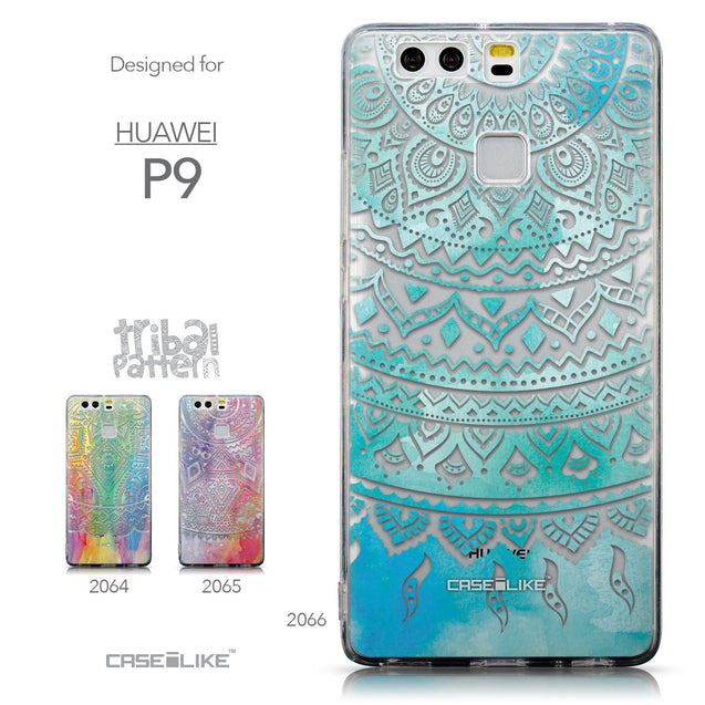 Collection - CASEiLIKE Huawei P9 back cover Indian Line Art 2066