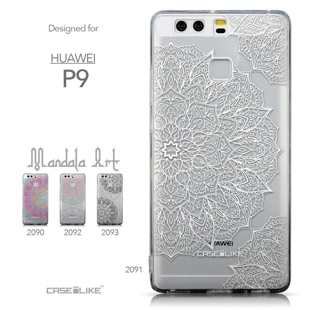 Collection - CASEiLIKE Huawei P9 back cover Mandala Art 2091
