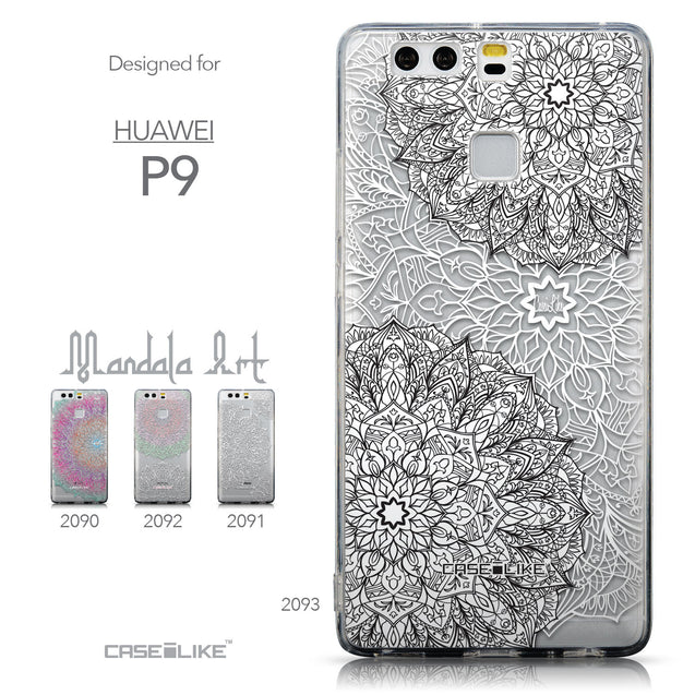 Collection - CASEiLIKE Huawei P9 back cover Mandala Art 2093