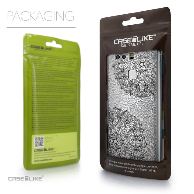 Packaging - CASEiLIKE Huawei P9 back cover Mandala Art 2093
