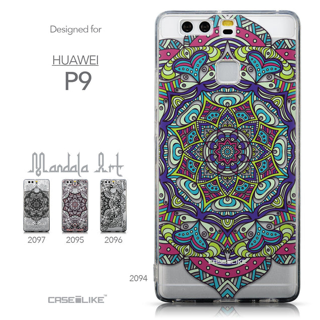 Collection - CASEiLIKE Huawei P9 back cover Mandala Art 2094