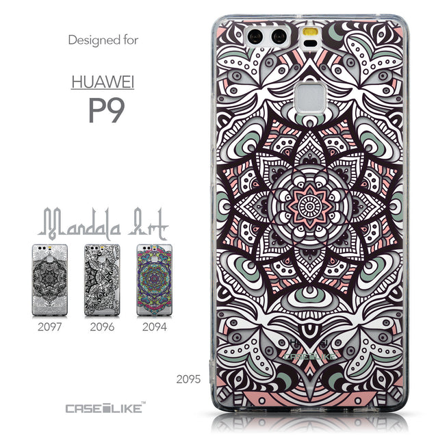 Collection - CASEiLIKE Huawei P9 back cover Mandala Art 2095