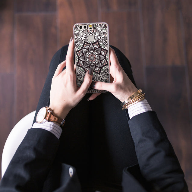 Share - CASEiLIKE Huawei P9 back cover Mandala Art 2095