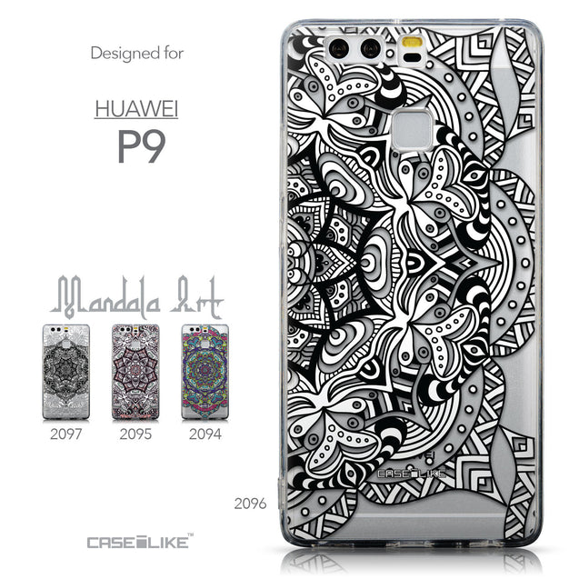 Collection - CASEiLIKE Huawei P9 back cover Mandala Art 2096