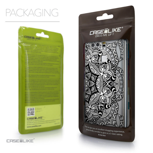 Packaging - CASEiLIKE Huawei P9 back cover Mandala Art 2096