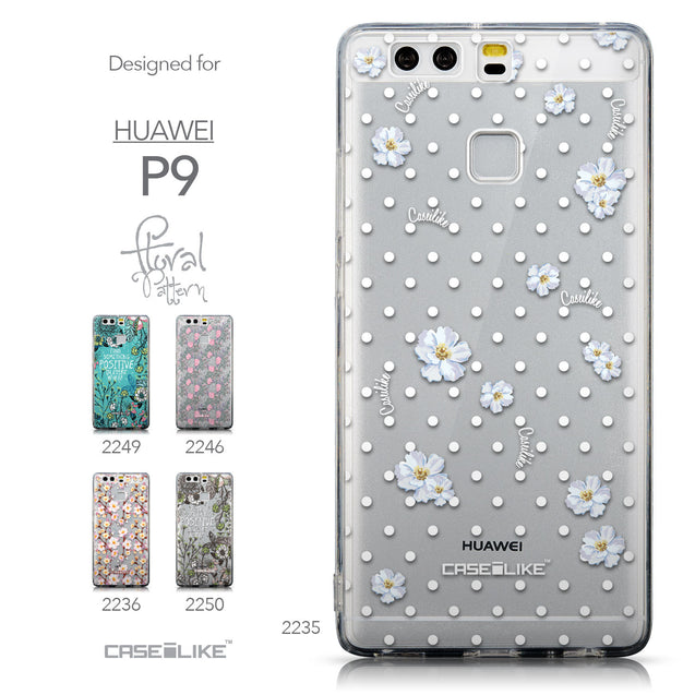 Collection - CASEiLIKE Huawei P9 back cover Indian Line Art 2061