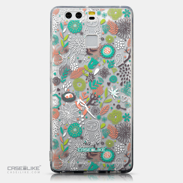 CASEiLIKE Huawei P9 back cover Spring Forest White 2241