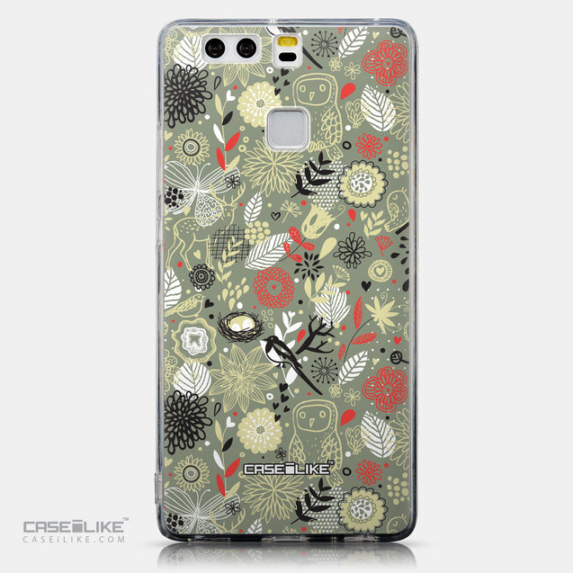 CASEiLIKE Huawei P9 back cover Spring Forest Gray 2243