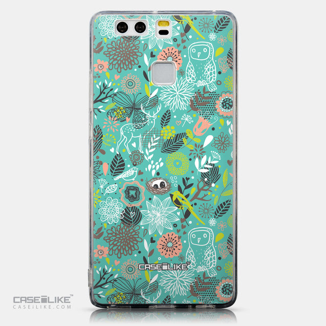 CASEiLIKE Huawei P9 back cover Spring Forest Turquoise 2245