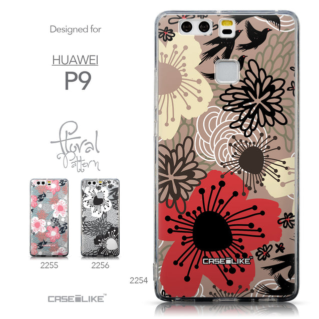 Collection - CASEiLIKE Huawei P9 back cover Japanese Floral 2254