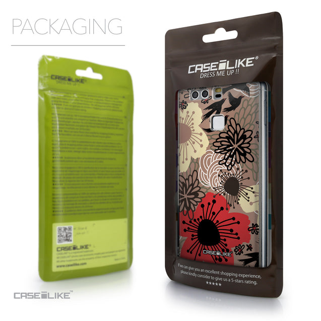 Packaging - CASEiLIKE Huawei P9 back cover Japanese Floral 2254