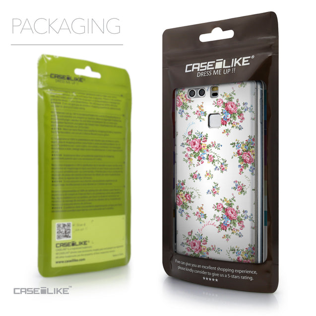 Packaging - CASEiLIKE Huawei P9 back cover Floral Rose Classic 2260