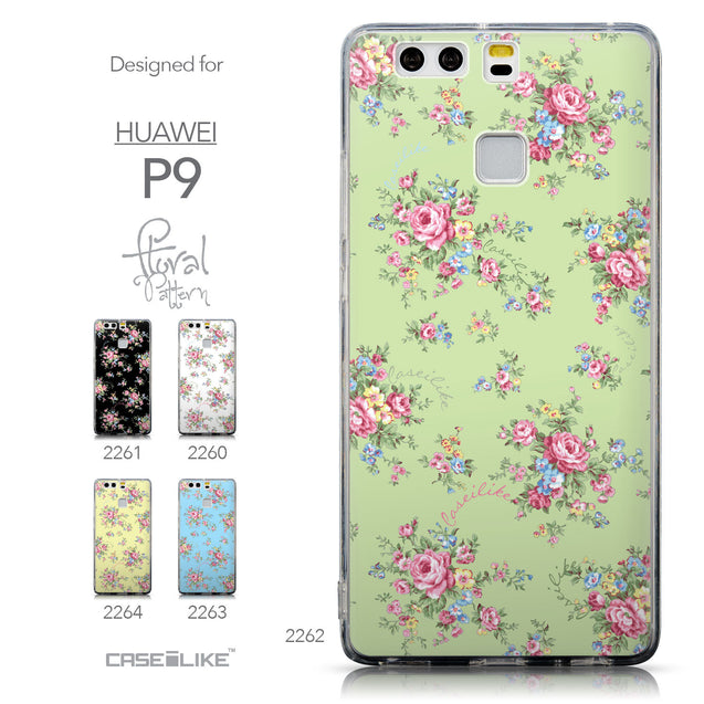 Collection - CASEiLIKE Huawei P9 back cover Floral Rose Classic 2262