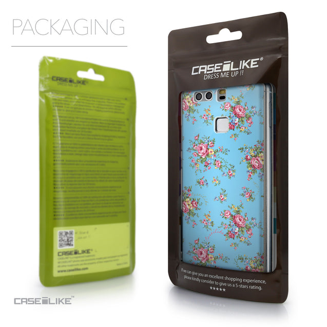 Packaging - CASEiLIKE Huawei P9 back cover Floral Rose Classic 2263