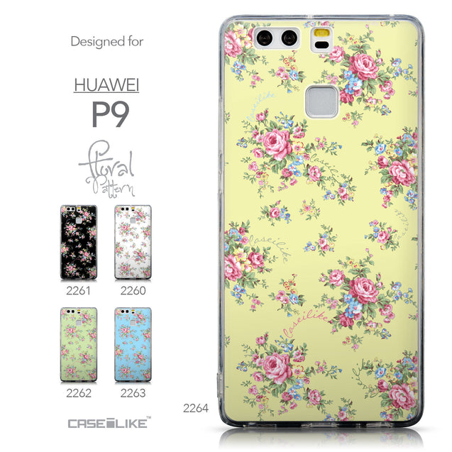 Collection - CASEiLIKE Huawei P9 back cover Floral Rose Classic 2264