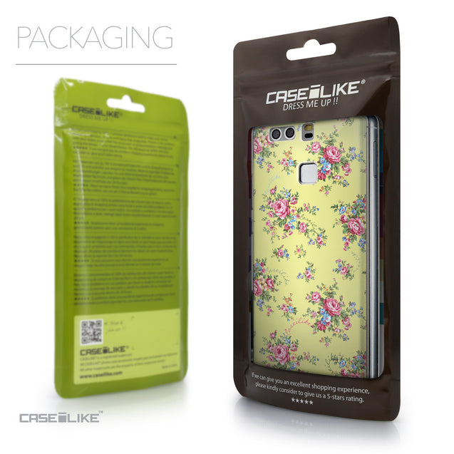 Packaging - CASEiLIKE Huawei P9 back cover Floral Rose Classic 2264
