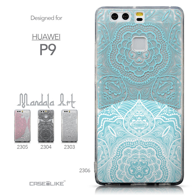 Collection - CASEiLIKE Huawei P9 back cover Mandala Art 2306