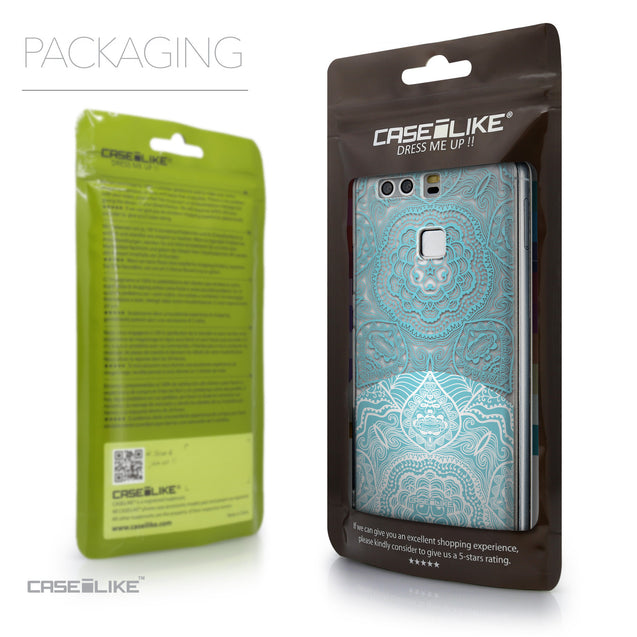 Packaging - CASEiLIKE Huawei P9 back cover Mandala Art 2306
