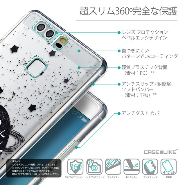 Details in Japanese - CASEiLIKE Huawei P9 back cover Quote 2401