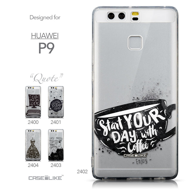 Collection - CASEiLIKE Huawei P9 back cover Quote 2402