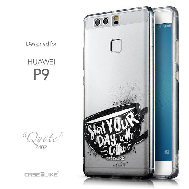 Front & Side View - CASEiLIKE Huawei P9 back cover Quote 2402