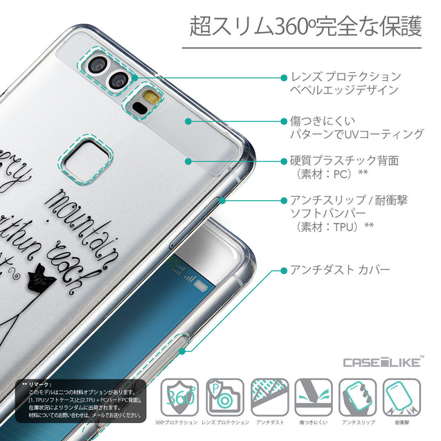 Details in Japanese - CASEiLIKE Huawei P9 back cover Indian Tribal Theme Pattern 2053