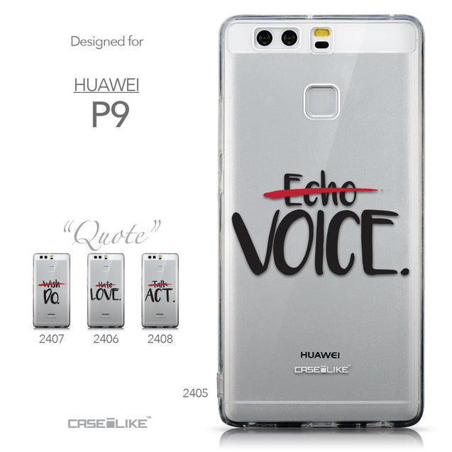Collection - CASEiLIKE Huawei P9 back cover Quote 2405