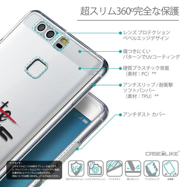 Details in Japanese - CASEiLIKE Huawei P9 back cover Quote 2406